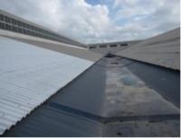 9年という長期間に渡り遮熱効果を発揮する工場のスレート屋根への施工事例-3